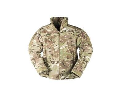Куртка флісова тактична утеплена DELTA-JACKET FLEECE, [1253] MULTITARN, Mil-tec