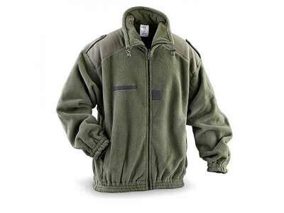 Куртка FRENCH ARMY - Fleece, Olive Green