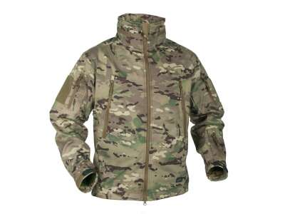 Куртка GUNFIGHTER Shark Skin Windblocker Camogrom Helikon-Tex
