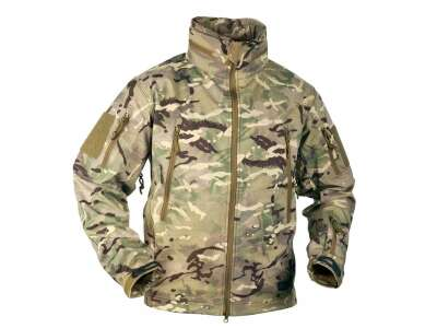 Куртка GUNFIGHTER Shark Skin Windblocker MP Camo Helikon-Tex