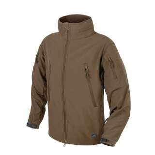 Куртка GUNFIGHTER - Shark Skin Windblocker, Mud Brown, Helikon-Tex®