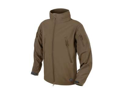 Куртка GUNFIGHTER Shark Skin Windblocker Mud Brown Helikon-Tex