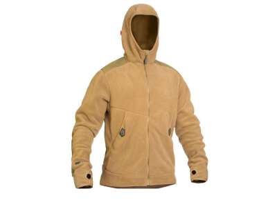 Куртка-худи тренировочная полевая FRWJ-Polartec (Frogman Range Workout Jacket Polartec 200), [1174] Coyote Brown, P1G
