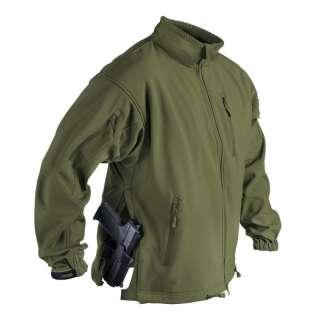 Куртка JACKAL QSA - Shark Skin, Olive Green, Helikon-Tex