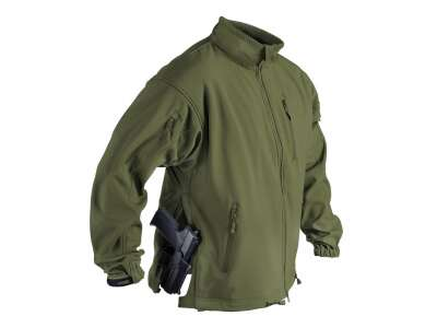 Куртка JACKAL QSA - Shark Skin, Olive Green, Helikon-Tex®