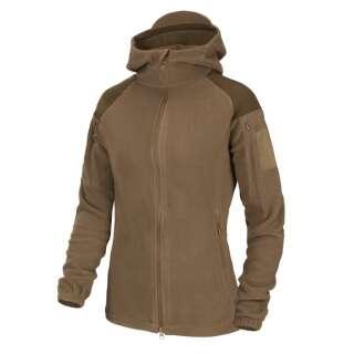 Куртка жіноча CUMULUS - Heavy Fleece, Coyote, Helikon-Tex®