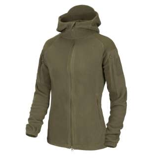 Куртка жіноча CUMULUS - Heavy Fleece, Taiga Green, Helikon-Tex®