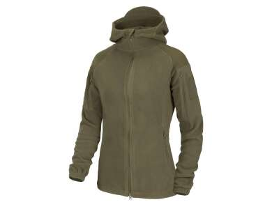 Куртка женская CUMULUS - Heavy Fleece, Taiga Green, Helikon-Tex®