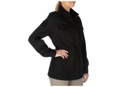 Куртка женская тактическая 5.11 Women's TACLITE® M-65 Jacket, [019] Black, 5.11