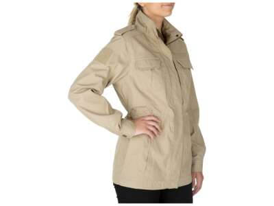 Куртка жіноча тактична 5.11 Women's TACLITE® M-65 Jacket, [162] TDU Khaki, 44140
