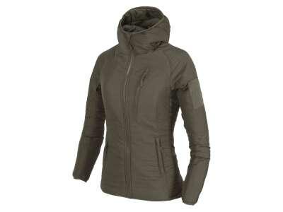 Куртка жіноча WOLFHOUND Hoodie, Taiga Green, Helikon-Tex®