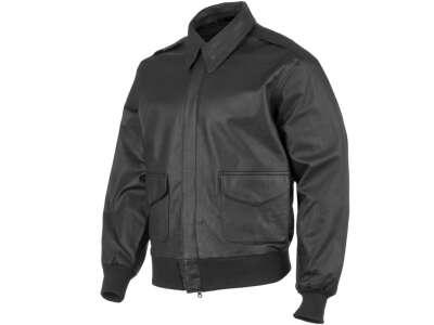 Куртка лётная кожаная американская A2, [019] Black, Sturm Mil-Tec® Reenactment