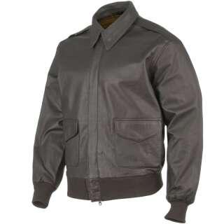Куртка лётная кожаная американская A2, [108] Brown, Sturm Mil-Tec® Reenactment