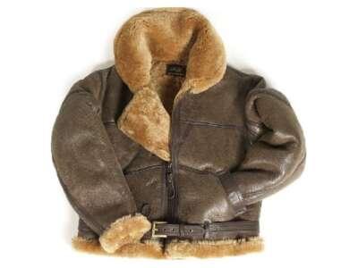 Куртка льотна шкіряна англійська RAF IRVING, [108] Brown, Sturm Mil-Tec®