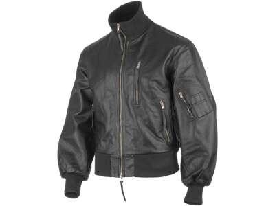 Куртка лётная кожаная Бундесвер, [019] Black, Sturm Mil-Tec® Reenactment