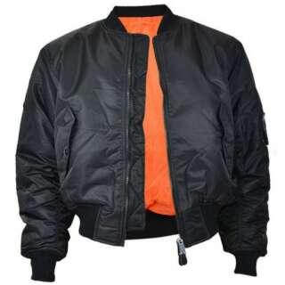 Куртка лётная MA1, [019] Black, Mil-tec
