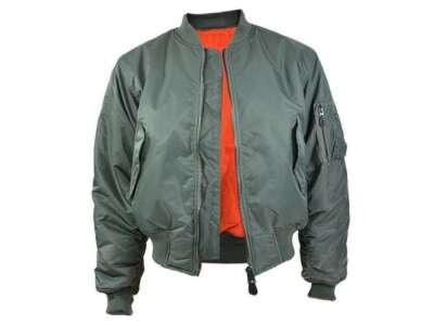Куртка лётная MA1, [182] Olive, Sturm Mil-Tec® Reenactment