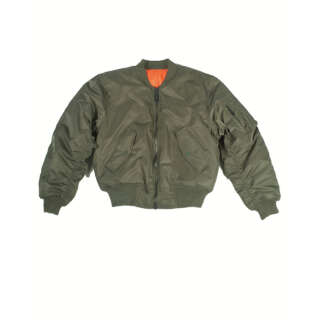 Куртка льотна MA1 США, olive, Mil-tec