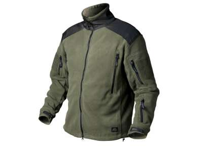 Куртка LIBERTY - Double Fleece, Olive Green/Black, Helikon-Tex