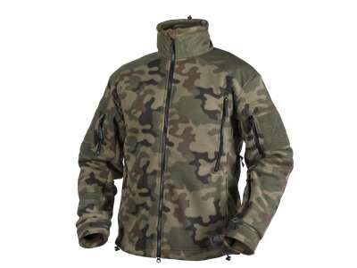 Куртка LIBERTY - Double Fleece, PL Woodland, Helikon-Tex®