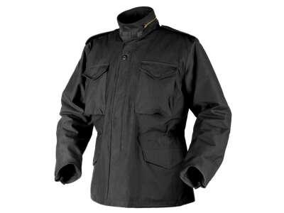 Куртка M65 - NyCo Sateen, Black, Helikon-Tex