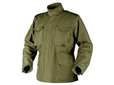 Куртка M65 - NyCo Sateen, Olive Green, Helikon-Tex
