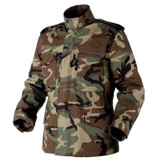Куртка M65 - NyCo Sateen, US Woodland, Helikon-Tex®