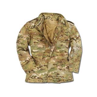 Куртка М65 з підкладкою (Multicam), Mil-tec