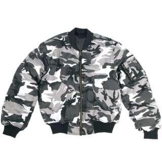 Куртка MA1 - камуфляжна, 09n-Urban, Mil-tec