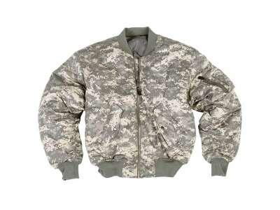 Куртка MA1 - камуфляжная, ACU, Mil-tec