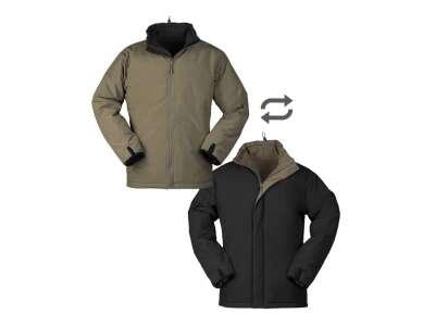 Куртка двостороння зимова Mil-Tec (Ranger green/Black), Mil-tec