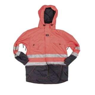 Куртка німецька влагозащитная зі світловідбивачами Helly Hansen 3M WORK JACKET SCOTCHLITE ™ б/у, [+1276] Orange, Mil-tec