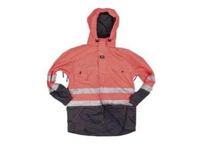 Куртка німецька влагозащитная зі світловідбивачами Helly Hansen 3M WORK JACKET SCOTCHLITE ™ б/у, [тисяча двісті сімдесят шість] Orange, Sturm Mil-Tec®