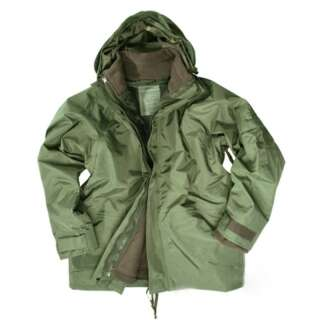 Куртка непромокаючий з флісовій підстібка, [182] Olive, Mil-tec