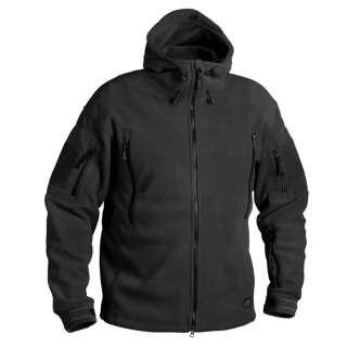 Куртка PATRIOT - Double Fleece, Black, Helikon-Tex