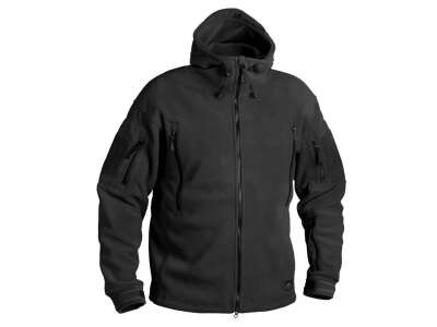 Куртка PATRIOT - Double Fleece, Black, Helikon-Tex