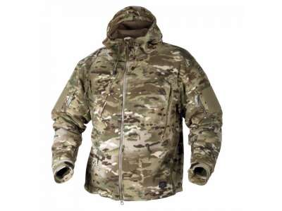 Куртка PATRIOT - Double Fleece, Camogrom, Helikon-Tex