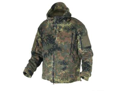 Куртка PATRIOT - Double Fleece, Flecktarn, Helikon-Tex®