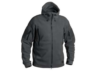Куртка PATRIOT - Double Fleece, Shadow Grey, Helikon-Tex®