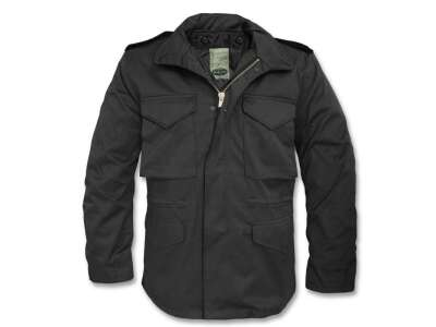 Куртка полевая демисезонная M65, [019] Black, Sturm Mil-Tec® Reenactment