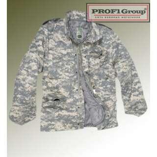 Куртка полевая демисезонная M65, [1129] Камуфляж AT-DIGITAL, Sturm Mil-Tec