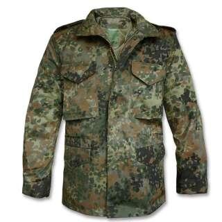 Куртка польова демісезонна M65, [1215] Німецький камуфляж, Mil-tec