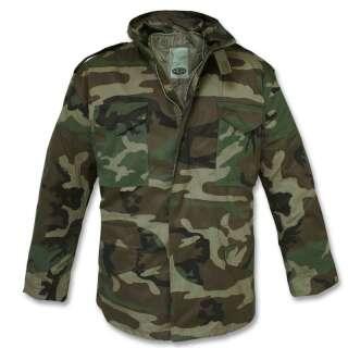 Куртка польова демісезонна M65, [1 358] Woodland, Mil-tec
