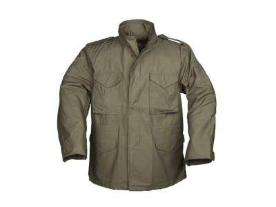 Куртка полевая демисезонная M65 Teesar (TR), [182] Olive, Sturm Mil-Tec® Reenactment