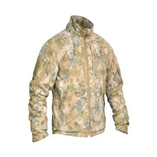 Куртка польова демісезонна PCWPJ-Alpha (Punisher Combat Winter Patrol Jacket Polartec Alpha), [1170] Covert Arid Camo Pat. D 697,319, P1G-Tac