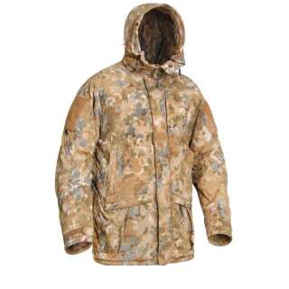 Куртка полевая зимняя PCWAJ-Power Fill (Punisher Combat Winter Ambush Jacket Polartec Power Fill), [1170] Covert Arid Camo Pat. D 697,319, P1G