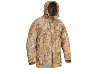 Куртка польова зимова PCWAJ-Power Fill (Punisher Combat Winter Ambush Jacket Polartec Power Fill), [1170] Covert Arid Camo Pat. D 697,319, P1G-Tac