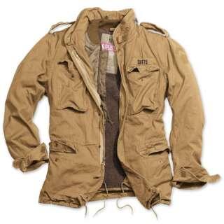 Куртка зі знімним підкладкою SURPLUS REGIMENT M 65 JACKET, [1344] Washed beige, Surplus