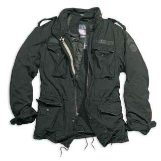 Куртка зі знімним підкладкою SURPLUS REGIMENT M 65 JACKET, [тисячі триста сорок шість] Washed black, Surplus