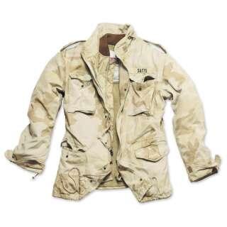 Куртка со съемной подкладкой SURPLUS REGIMENT M 65 JACKET, [1347] Washed desert storm, Surplus Raw Vintage®